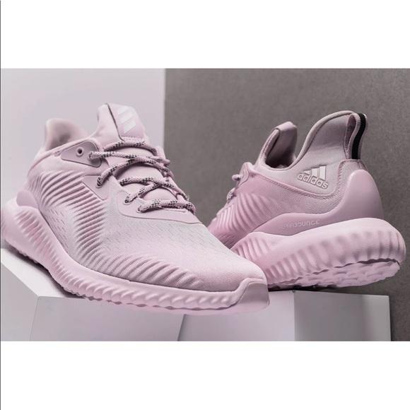 9708b5de5f4 Adidas sneakers AlphaBounce 1 W Sz 9.5 Womens Pink